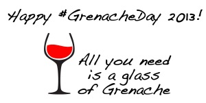glass of grenache GrenacheDay2013